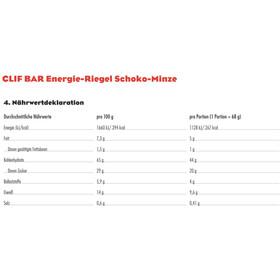 CLIF Bar Energybar Box 12x68g, Chocolate-Mint